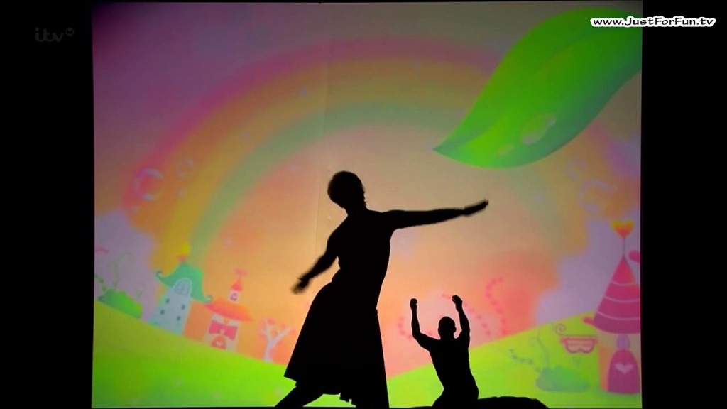 Amazing Attraction Shadow Theatre Dancers - Just For Fun