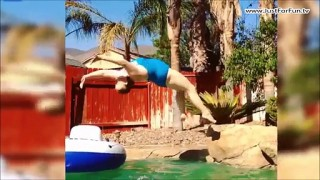 Best Selection of Swimming Pool & Diving Funny Fails Compilation 2016